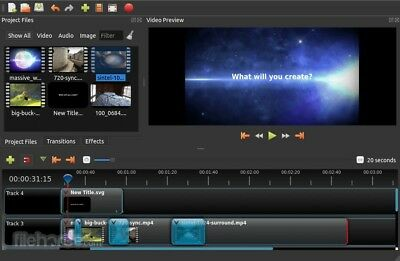 Professional Video Editing Software Create Edit Effects - Windows 10 8 7 And Mac