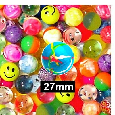 200 x high bounce super jet balls,wedding favours, party,loot, bag fillers.27mm