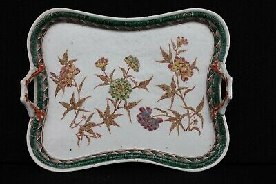 Famille verte serving tray late 19th century Chinese export
