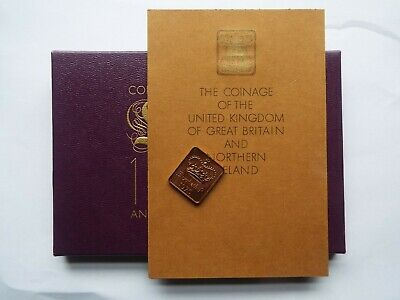 1970 Box COA and Royal Mint Token from original Proof Coin set