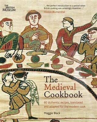 NEW The Medieval Cookbook By Maggie Black Paperback Free Shipping