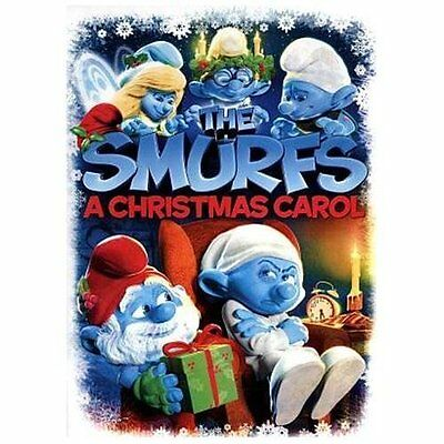 The Smurfs: A Christmas Carol (DVD, 2013) Bilingual NEW
