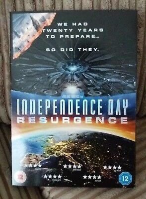 Independence day Resurgence DVD