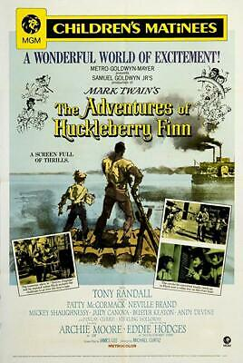 16mm Feature- MGM- The Adventures of Huckleberry Finn-1960-Tony Randall