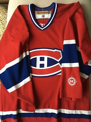 Montreal Canadiens Jersey Genuine And Excellent Condition !