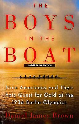 THE BOYS IN THE BOAT by Daniel James Brown Unabridged Audio Book 12 CD'S DISCS