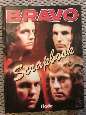 BRAVO Scrapbook - SLADE - A4 hard cover - 214 pages colour - -