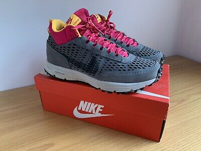 sports shoes a5d01 0ac2c Nike Lunar LDV Sneakerboot Cool Grey Laser Orange Trail Boot Trainers shoes