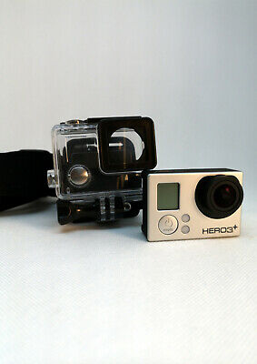 GoPro Hero3+ Silver Edition VideoCamera 10MP 1080/60 fps, 720p/120fps, WiFi