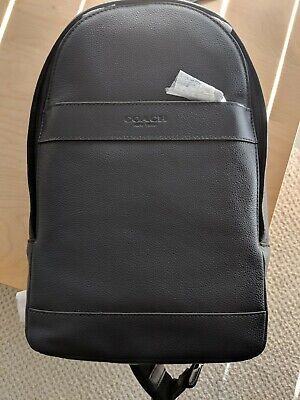 cb6a8e096c6d NWT Coach F54770 Mens Charles Messenger Sling Pack Bag in Smooth Leather   350