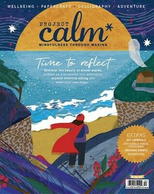 We Love Craft magazine #40 Project Calm #12 2018 Intuitive Eating, DIY Journals