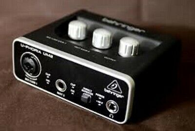 Behringer UM2 U-Phoria USB Audio Interface with switchable +48V