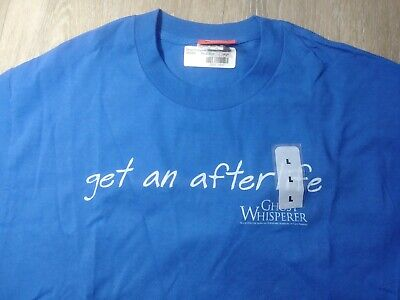 Get an Afterlife Ghost Whisperer Blue CBS T Shirt Tee $20 MRSP NEW