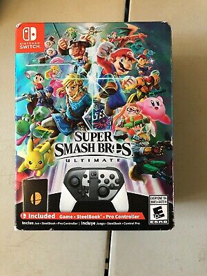 Super Smash Bros. Ultimate Special Edition (includes Pro Controller) - BRAND NEW