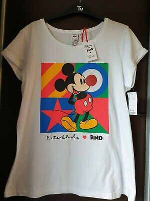 Disney Red Nose Day Peter Blake Micky Mouse T-shirt Large