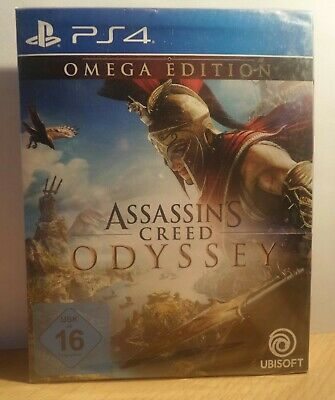 OVP Assassin's Creed Odyssee Omega Edition PS 4