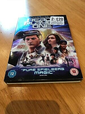 Ready Player One DVD. Watched Once. In Sleeve