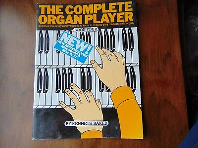 Kenneth Baker **THE COMPLETE ORGAN PLAYER** Book 4 Sheet Music Book