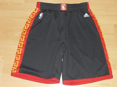 Golden State Warriors Chinese New Year NBA Basketball Shorts Hose Adidas L
