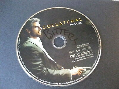 Collateral 2004 DVD Movie Tom Cruise Jamie Foxx - no reserve