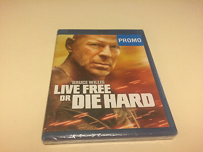 Live Free Or Die Hard*blu-Ray Disc Movie*factory Sealed*bruce Willis*brand New