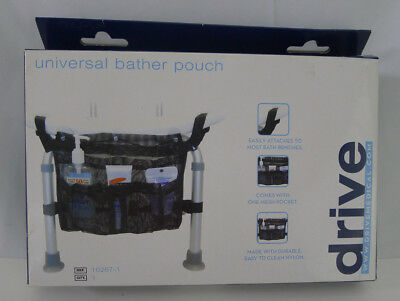 Drive Medical Universal Bather Pouch Mesh For Bath Bench Personal Care Holder