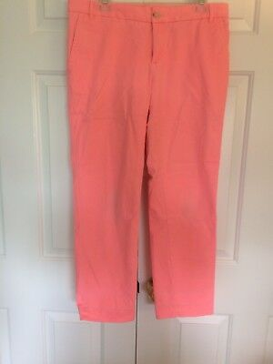 Ladies Banana Republic Milly Collection  Cropped Chino Size 8