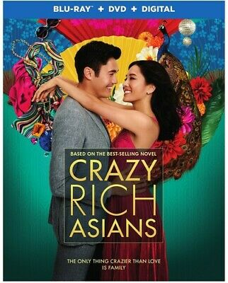 Crazy Rich Asians - 2 DISC SET (REGION A Blu-ray New)