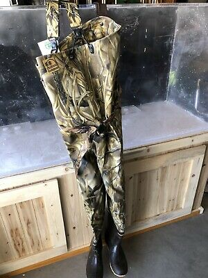 Men's HODGMAN Waterfowl Waders Size 11 boot Canvas Material Never Used
