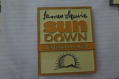Tap Beer Decal James Squire SUN DOWN Metal Badges