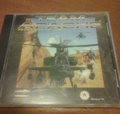 Team Apache: Helicopter Combat (PC, 1998) - FREE SHIPPING