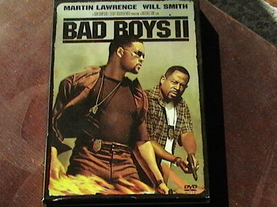 Bad Boys II 2003 R rated Widescreen Action DVD Will Smith Martin Lawrence Viewed