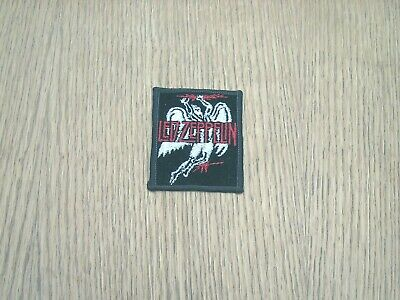 Vintage Led Zeppelin Patch Embroidered Rare!! Red