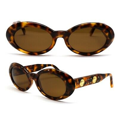 Occhiali Gianni Versace 527B Vintage Sunglasses New Old Stock 1990'S