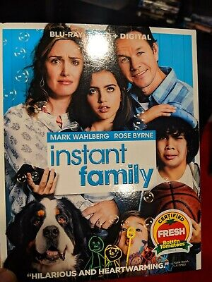 Instant Family (Blu-ray+DVD+DIGITAL) Sealed W/ Slipcover Free Shipping