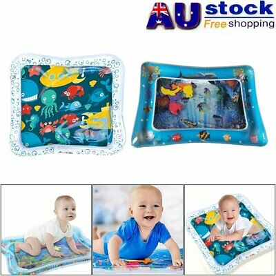 Water Filled Play Mat Inflatable Baby Water Fun Cushion for Children Infants JO