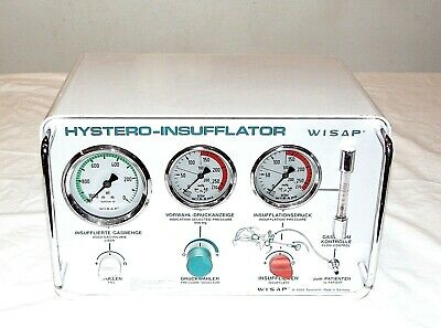 WISAP D-8029 CO2  Hystero-Insufflator Savertach Type 1148 Made in W. Germany