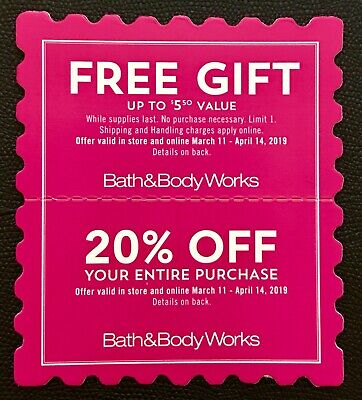 Bath & Body Works Coupons
