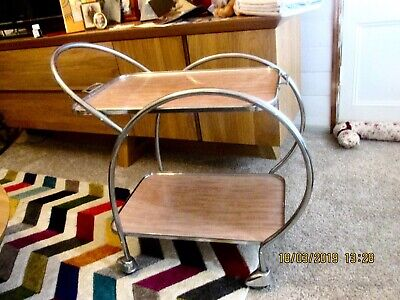 Art Deco  Drink Trolley Made By Ranleigh  Vgc Pu From Qld Postcode 4306