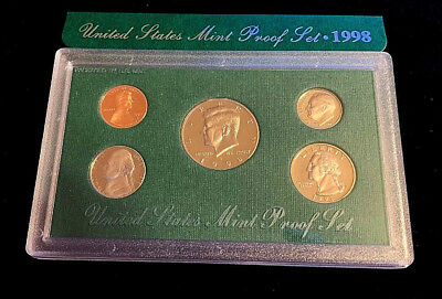 1998 S United States Proof Set Uncirculated