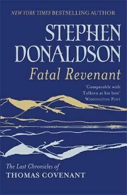 NEW Fatal Revenant By Stephen Donaldson Paperback Free Shipping