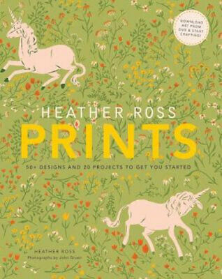 NEW Heather Ross Prints By Heather Ross Book with Other Items Free Shipping