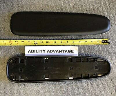 """1 Permobil 16"""" 3G ARMPAD BODY and LEATHERETTE PAD complete. BRAND NEW."""