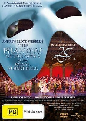 NEW The Phantom of the Opera (2011) (25th Anniversary Concert at The Royal Alber