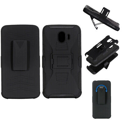 For Samsung Galaxy J2 Pro 2018, Shockproof Case Belt Clip, Anti-slip Armor Cover