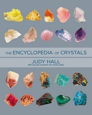 NEW Encyclopedia of Crystals By Judy Hall Paperback Free Shipping