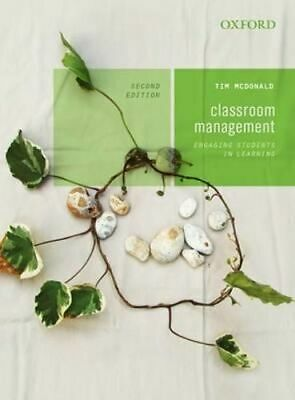 NEW Classroom Management By Tim McDonald Paperback Free Shipping