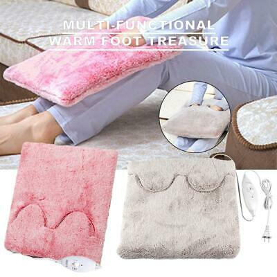 Multi-function Office Home Feet Warmer Electric Foot Heating Big Shoes Washable