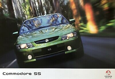 Holden Commodore SS VY Showroom Poster See also brochure listed s