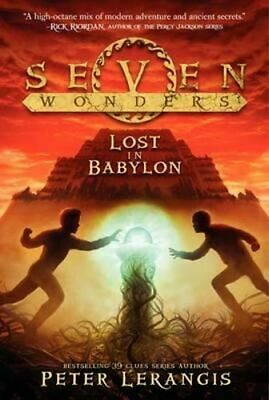 NEW Lost in Babylon By Peter Lerangis Paperback Free Shipping